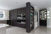 Kitchens / Designed, Manufactured and Fitted by Mitchell and Stanley.