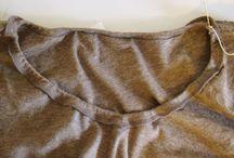 Alterations tshirt / Sewing