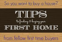 First Time Home / Tips,tricks and helpful resources for owning/buying your first home!