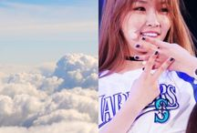 AvatarLA&KPOP / kpop idols that i think belong to the air, Fire, Earth & Water elements // ps these edits are 100% made by me