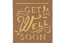 Get Well Cards / Cricut and Stamping / by Shelia Winfrey