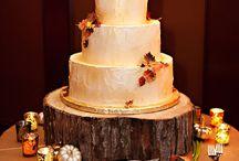 Bruidstaarten herfst