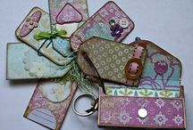 Altered-Mini and Paper Bag Albums / Pins of mini and paper bag albums that I like and admire. Tons of albums to expand my knowledge of making mini's and my imagination and to learn new techniques from. / by Melisa Marie