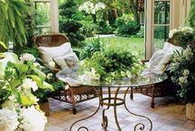 * Indoors... Outdoors * / Concervatories..outdoor rooms..patios..