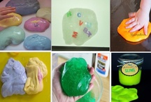 13. SLIME - RECIPES / SLIME, SILLY PUTTY, FLUBBER, GAK - RECIPES