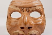 Masks & Figurines / Antique tribal masks and figurines from Asia.