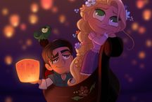 Cute disney illustration
