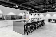 Modern Office - Kitchen