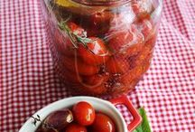 conserva de tomate cereja