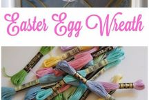 Easter decoration and diy