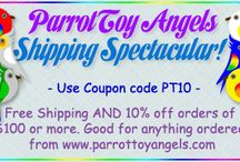 Parrot Toy Angels Coupons / Coupons for bird goodies