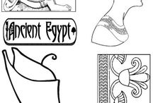 Ancient Egypt Topic Study / Activities that teach primary school kids about Ancient Eqypt