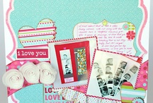 Valentines, Easter, Thanksgiving & More... / Here's the place to check out all of our NEW layouts, cards, & crafts featuring some of the Holidays throughout the Year.