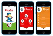 Mobile App Designs : Lalit Mishra / Mobile App Design for Plumber