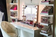 Makeup rooms