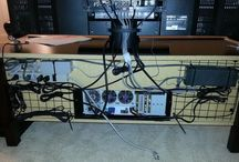 Cable management / Organization at its best / by Ted Murfree