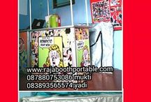 raja booth portable / Raja Booth Portable Spesialis produksi booth portable sejak tahun 2012. Silahkan kunjungi website kami untuk informasi lengkap dan update produk terbaru kami. www.rajaboothportable.com