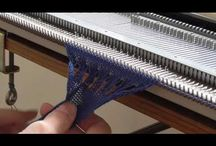 Machine à tricoté