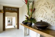 Indonesian inspired decor
