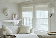 white, coastal interiors