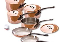 High-end kitchen cookware Mauviel Copper / by James Sultan