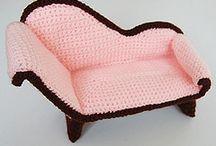 amigurumi muebles y accesorios