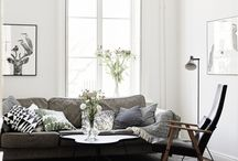 HOME DESIGN :: LIVING ROOM / A comfy place, a restful place, an inspiring place, a practical place