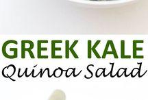 Kale Quinoa Salad / Kale Quinoa Salad