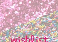 sprinkles and glitter / If you ever need or want to buy me something...here are some ideas :)