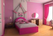 My sweet<3's bedroom / by Genie Flores Wyatt