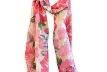 Floral Scarves / Aromatherapy Floral Scarves