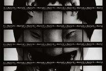 """No One Knows / These are portraits of friends, resorting to the well-known technique named """"contact print"""" for testing negatives. Every frame represents a portion of their face, and maintains their facial characteristics. In the end and all together the frames reveal the never seen or dreamt aspect of themselves: real and at the same time not real, but nevertheless existing even if unknown."""