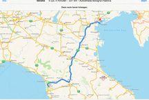 Toscane / San Marino / Pisa - Florence - San Marino - Venetië