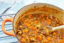 Soup, stews ect