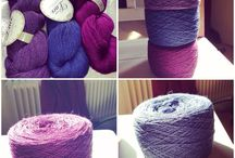 Inna Knitting / Hand Knitted projects, yarns, spinning etc