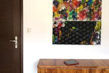 Panele gipsowe - zamówienia specjalne / Panele dekoracyjne gipsowe. Dekoracja ścian. 3D wall