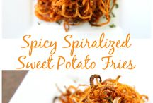 Spiralized foods