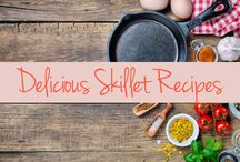 Skillet Recipes / Your hard-working skillet takes the grand prize for welcoming any recipe and cooking it to perfection. But some recipes and more deserving than others to be in this versatile pan.  Check out which recipes and foods work best in your cast iron skillet. / by The Latin Kitchen