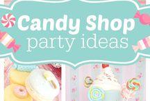 Candy shop party ideas