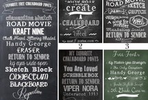 Fonts / by Deana Burnside
