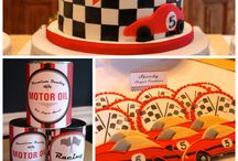 race car theme party