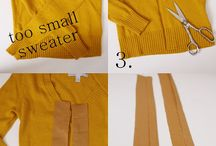 Upcycling - clothes