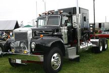 Mack Truck Pictures: Old Mack Trucks / Photo collection of older model Macks and vintage Macks. The Bulldog rules. / by Smart Trucking