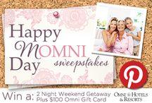 Happy Momni Day Sweepstakes! / #omnihotels #sweepstakes