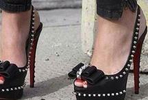 On heels