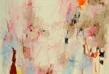 Painting (gestural abstraction) / Images to fall in love with