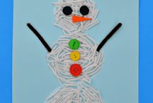 January Preschool Theme / January Preschool Theme - Winter, Snowman, Winter Animals, Hibernation, Snowflakes, MLK Birthday.