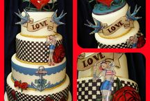 Cakes by Professional Cake Decorators using Icing Images Products / Professional cake decorators using iDesigns, Premium Icing Sheets and Spellbinders Sweet Accents for Icing Images.