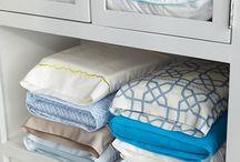 Bed linen storage