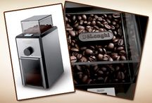 Delonghi Coffee Grinders / Reviews of the best DeLonghi coffee grinders, as well as getting to know the company who builds them a bit better.